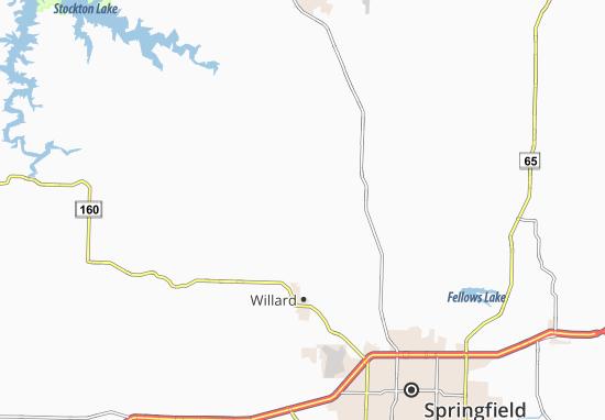 Kaart Plattegrond Sacville