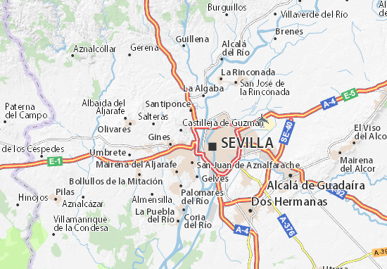 Camas Map