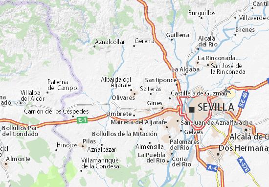 Mapas-Planos Olivares