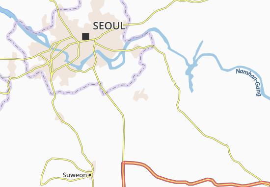 Mappe-Piantine Songnam
