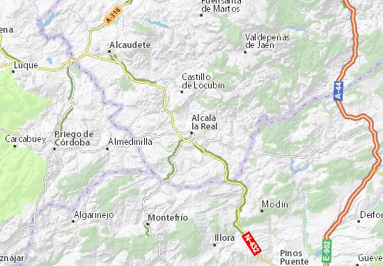 Alcalá la Real Map