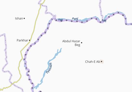 Mapa Plano Yangi Qal Ei