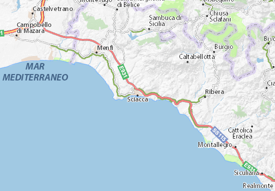 Mappe-Piantine Sciacca