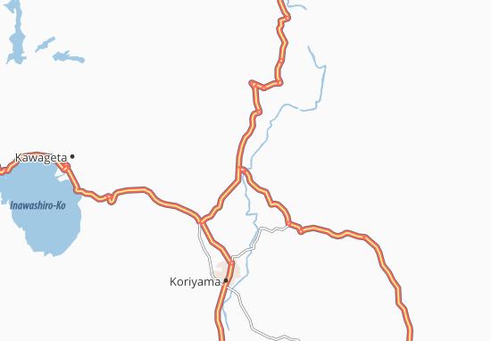 Motomiya Map