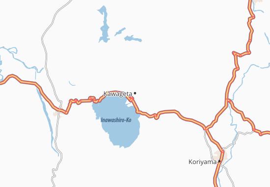 Kawageta Map