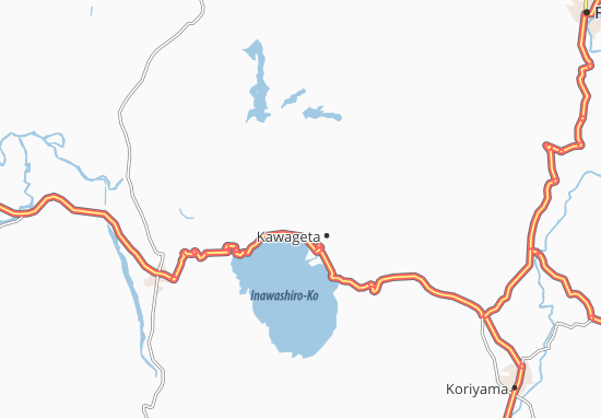 Inawashiro Map
