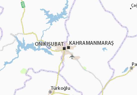 Kahramanmaraş Map