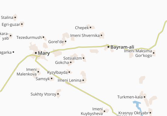 Mapa Plano Sotsializm