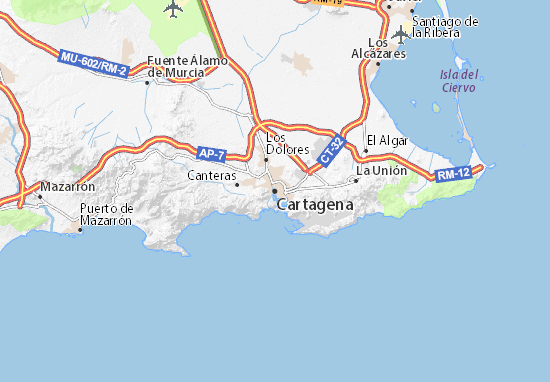 Mapas-Planos Cartagena