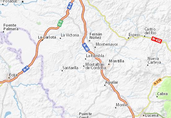 La Rambla Map