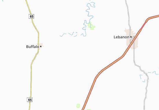 Kaart Plattegrond Long Lane