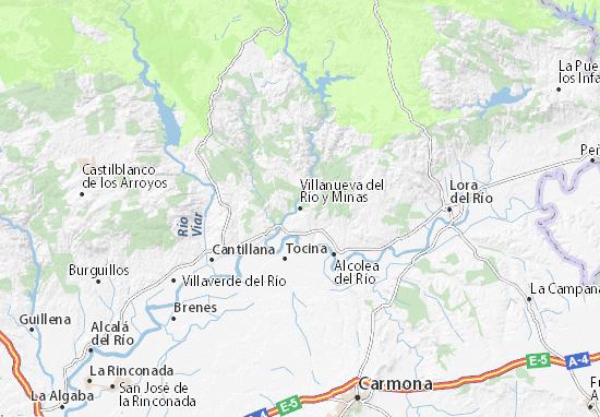 Mapas-Planos Villanueva del Río y Minas
