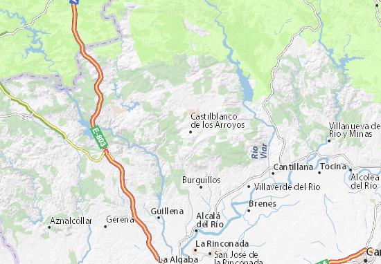 Mapas-Planos Castilblanco de los Arroyos