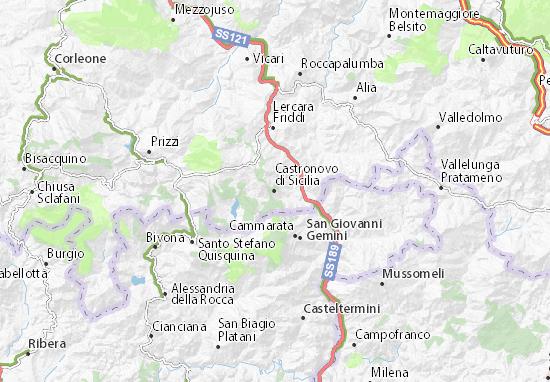 Mappe-Piantine Castronovo di Sicilia
