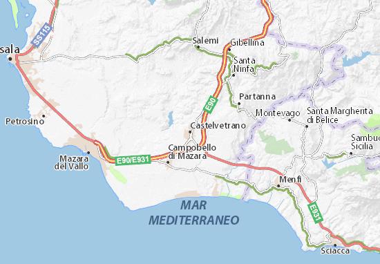 Mapa Plano Castelvetrano
