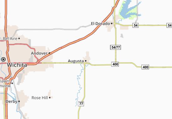Carte-Plan Augusta