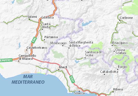 Mappe-Piantine Santa Margherita di Belice