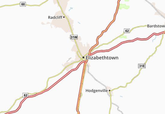 Mappe-Piantine Elizabethtown