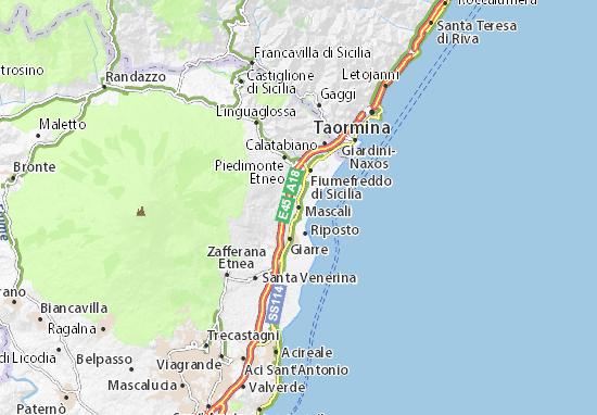 Mascali Map