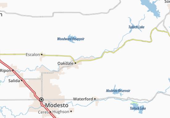 Carte-Plan East Oakdale
