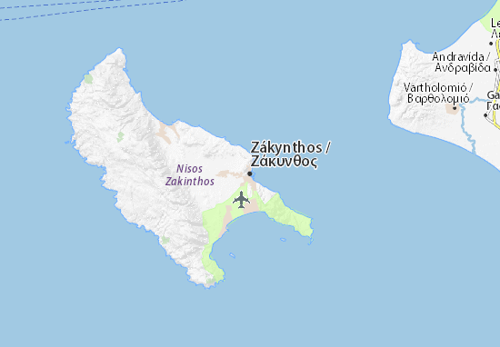 Zakynthos map detailed maps for the city of zakynthos viamichelin are you looking for the map of zkynthos find any address on the map of zkynthos or calculate your itinerary to and from zkynthos find all the tourist gumiabroncs Images