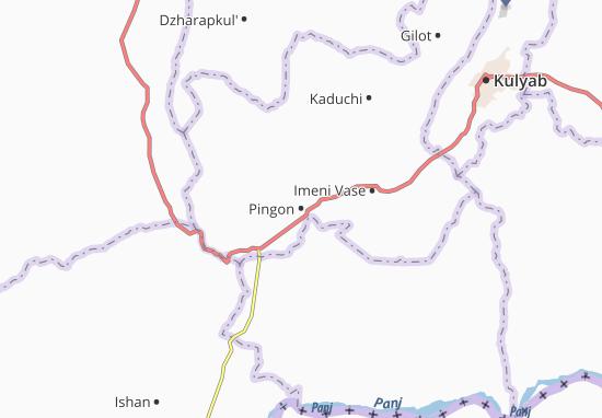 Mapa Plano Pingon