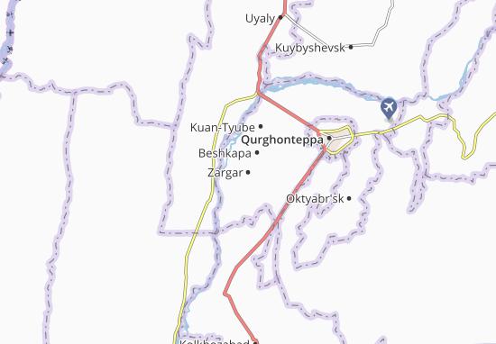 Mapa Plano Zargar