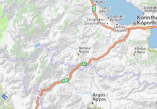 Neméa Map