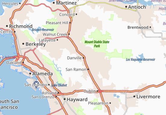 Danville Map