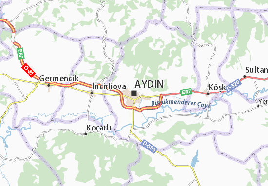 Karte Stadtplan Aydın