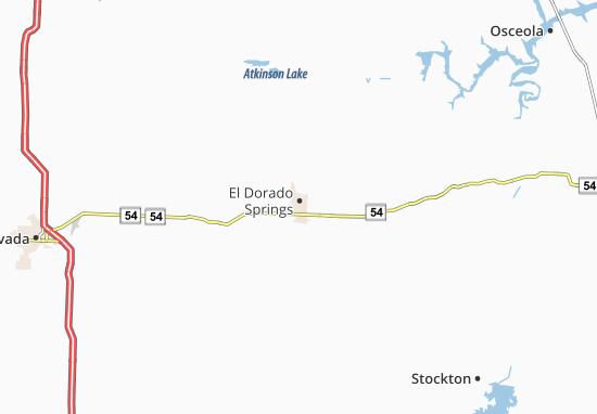 Mappe-Piantine El Dorado Springs