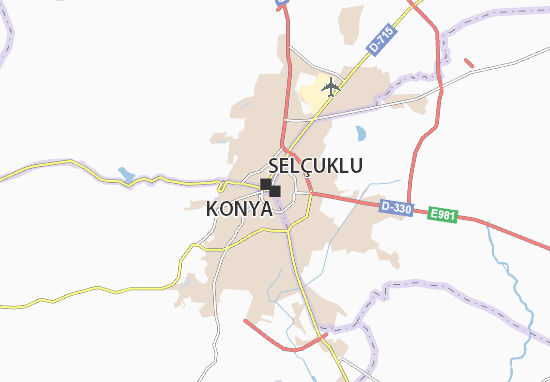 Konya Map