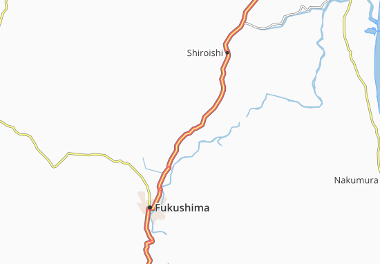 Kaart Plattegrond Fujita