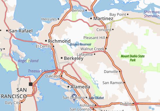 Orinda Map