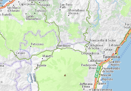 Cartina Di San Teodoro Sardegna.Mappa Michelin San Teodoro Pinatina Di San Teodoro Viamichelin