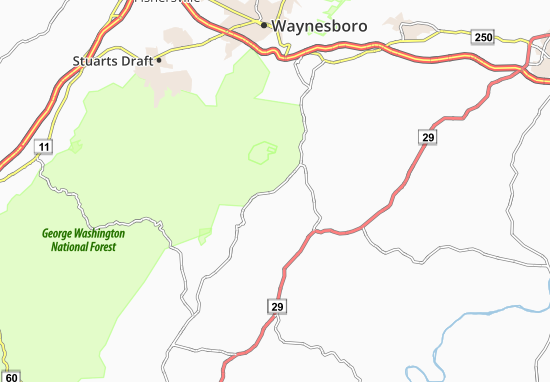 Nellysford Map