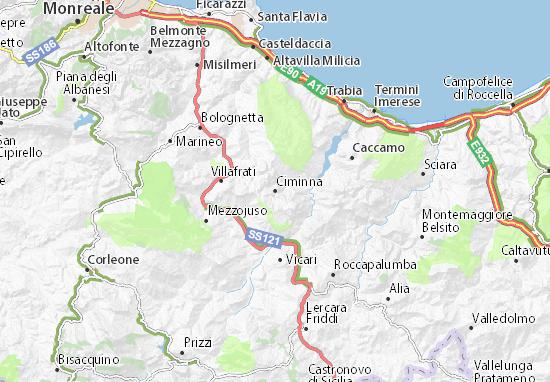 Mappe-Piantine Ciminna