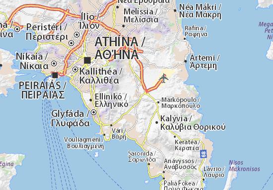 Mapa Plano Koropí