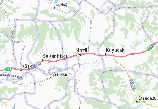 Nazilli Map