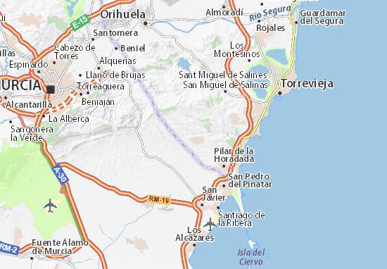 El Pinar De Campoverde Map Detailed Maps For The City Of El Pinar