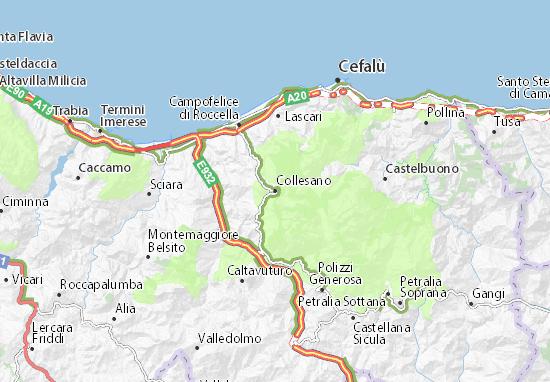Mappe-Piantine Collesano