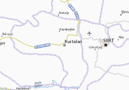 Kurtalan Map