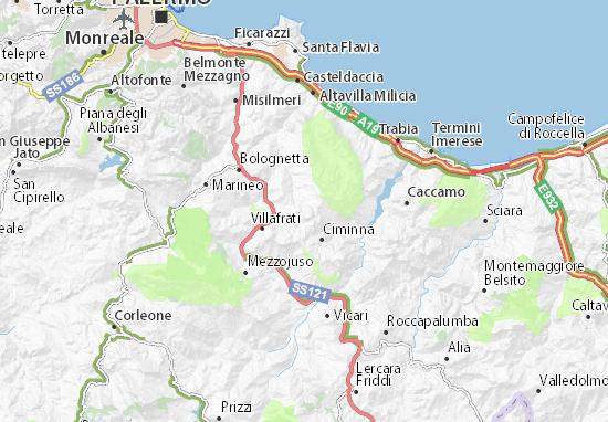 Mappe-Piantine Baucina