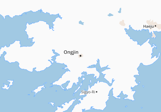 Mapas-Planos Ongjin