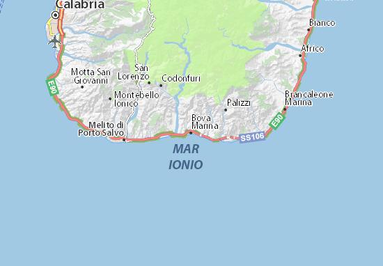 Mappe-Piantine Bova Marina