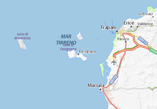 Mappe-Piantine Favignana
