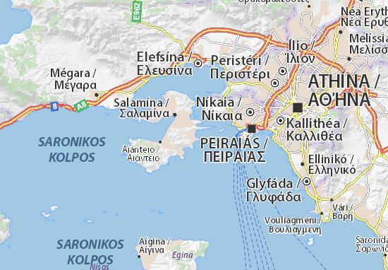 Carte-Plan Selínia