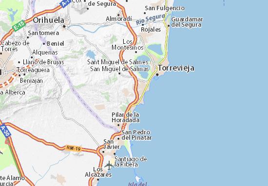Cartina Alicante Spagna.Mappa Valencia Cartina Valencia Viamichelin
