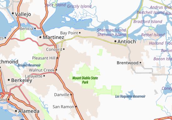 Clayton Map
