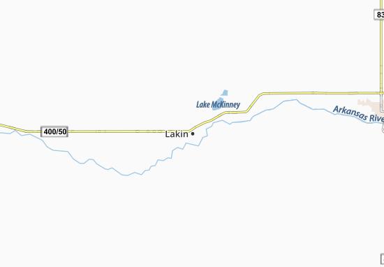 Lakin Map